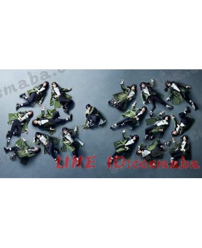 欅坂46 黒い羊 演出服 芸術写真服 ダンス服 団体ション衣装 パンツルック 緑&黒い&白い 個性なデザイン コスプレ衣装