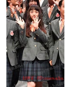 吉本坂46 衣装 アンビバレント 披露インタビュー 服 個性 コスプレ制服 かわいい 青春感がします 小川暖奈