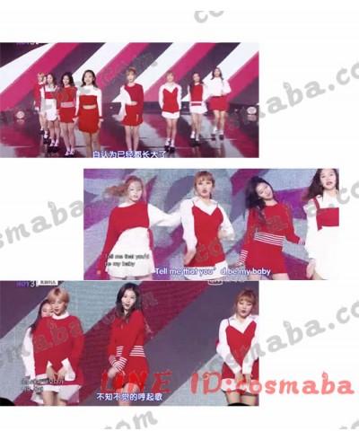 twice tt 演出服 コスプレ衣装 通販 販売 いろんなスタイル 赤い ワンピース 一覧