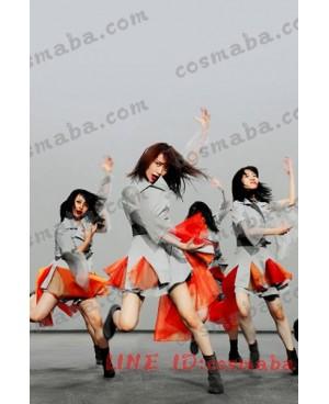 AKB48 「NO WAY MAN」演出服 コスプレ衣装通販 灰色 MVステージ服 チョウかっこういい