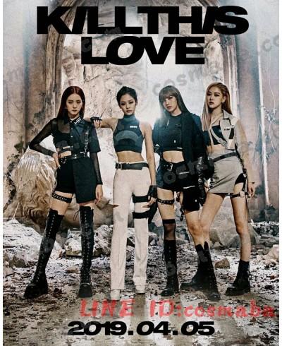 blackpink KILL THIS LOVE MV演出服 ダンス 服 コスプレ衣装 通販 ブランド