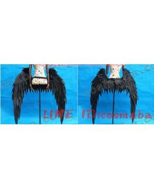 オーバーロードover lord アルべド コスプレウィング 腰から黒色の天使の翼