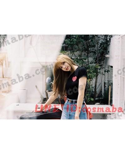 blackpink KILL THIS LOVE 私服 コスプレ衣装 通販 経典的 黒いシャツ ブランド 即納