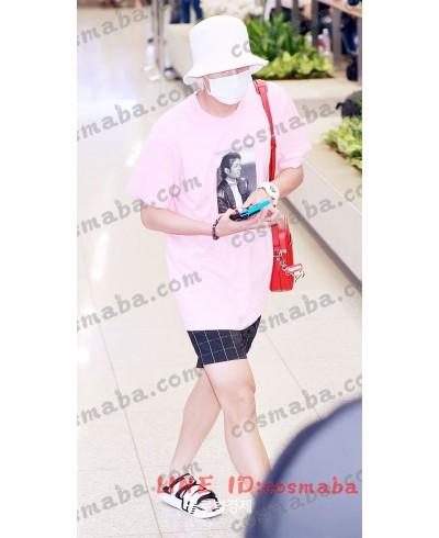 bts  blackpink lisa ブラックピンク KILLTHISLOVE 打歌服 応援服 jennie 通販 Tシャツ JISOO 即納