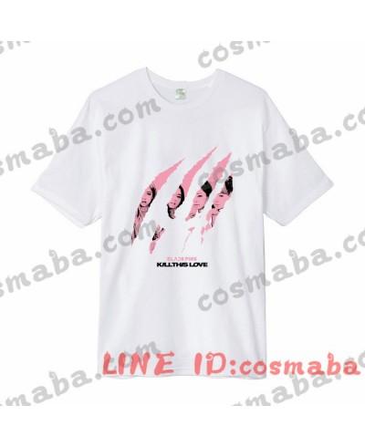 blackpinkブラックピンク KILL THIS LOVE lisa リサ 応援服 服 コスプレ衣装 通販 ピンクシャツ ジス