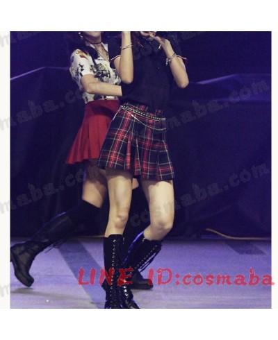 blackpink lisa ブラックピンク DDU-DU DDU-DU KILLTHISLOVE 打歌服 通販 応援服 服 スカート 即納
