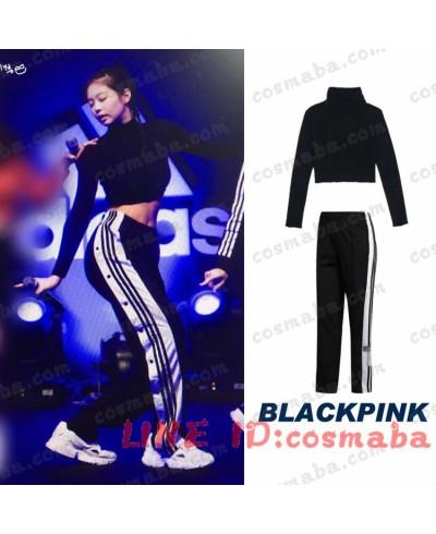 blackpink KILLTHISLOVE adidas ブラックピンク ジェニー   DDU-DU DDU-DU JENNIE レディ風 セクシー 演出服 通販