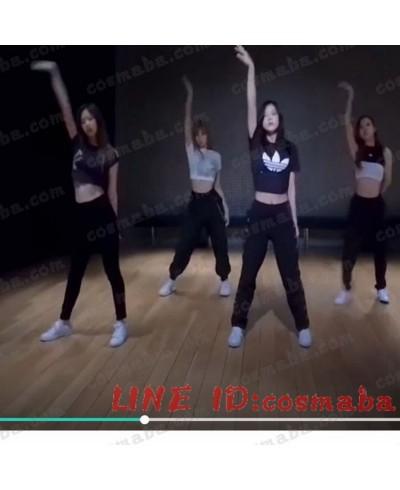 blackpink ブラックピンクメンバー 練習室 運動服  KILLTHISLOVE  打歌服 通販 コスプレ衣装 黒い  即納 韓国服