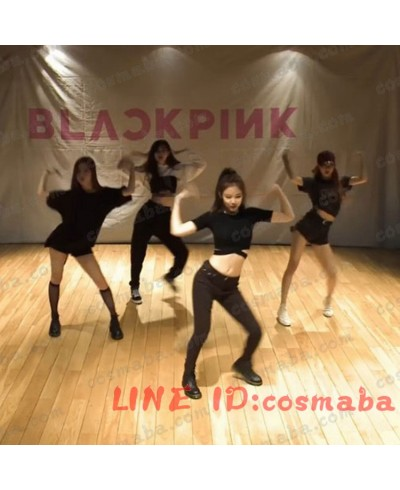 BLACKPINK ブラックピンク  KILL THIS LOVE リサ 練習用 コスプレ衣装  ブランド 服 ジェニー 即納  ジス ロゼ 韓国服 安い