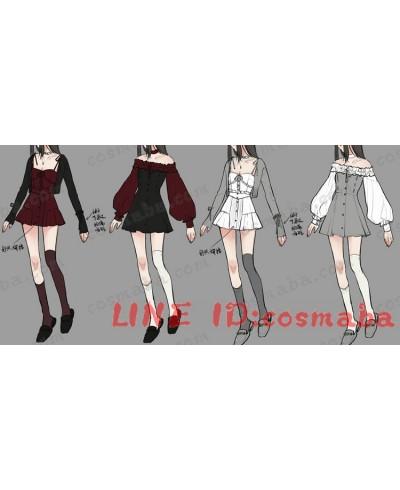 韓国服 優雅 セクシー ドレス ワンピース 高品質 激安い 韓国風 かわいい デートの感じ 安い