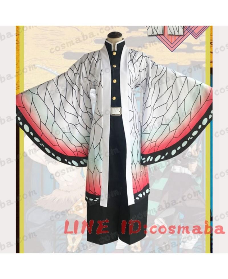 鬼滅の刃胡蝶 しのぶコスプレ衣装こちょう しのぶコスチューム鬼殺隊隊服