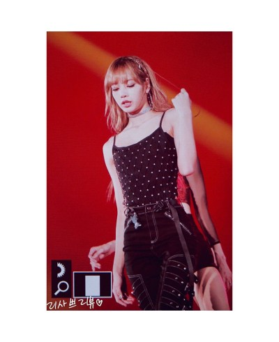 blackpinkブラックピンクlisa 公演 K-POP Attention キャミソールリサステージ服ダンス衣装