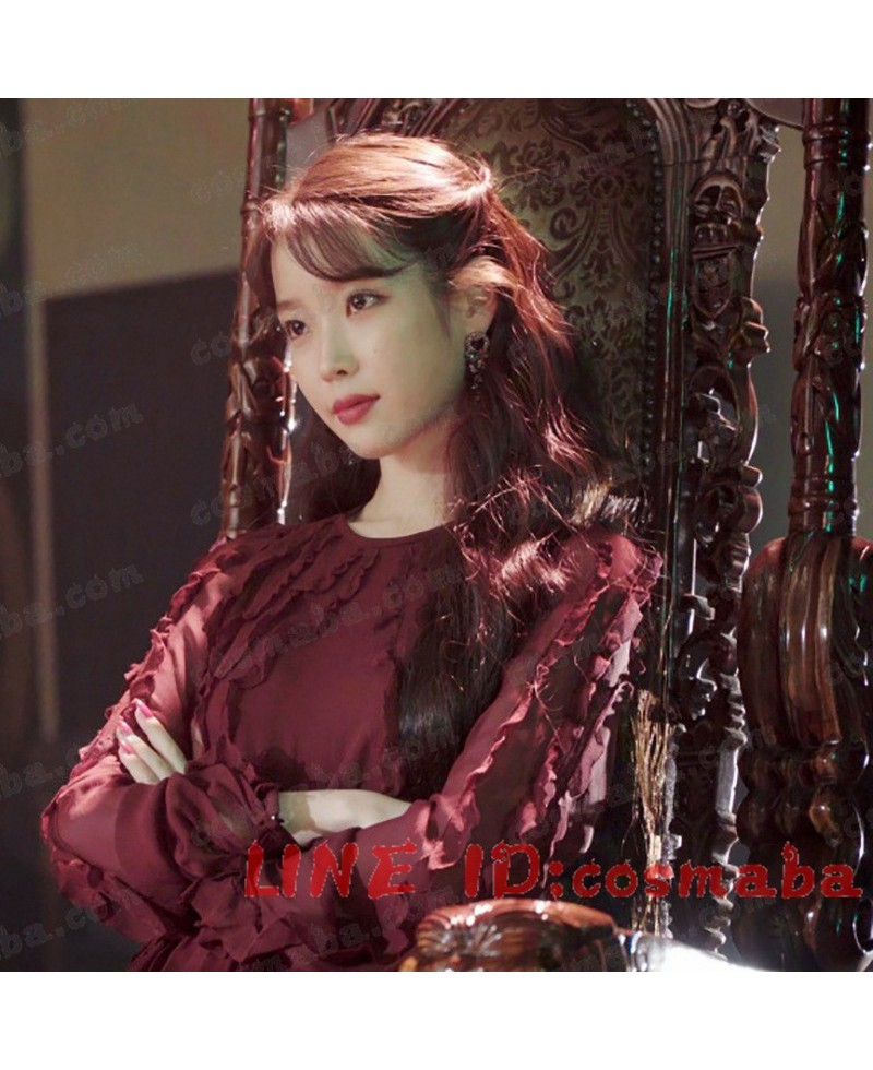 韓国ドラマ ホテルデルーナ(호텔델루나)マンウォル(IU)衣装 イヤリング  01