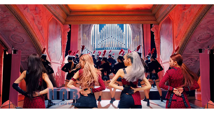 blackpink KILLTHISLOVE 演出服
