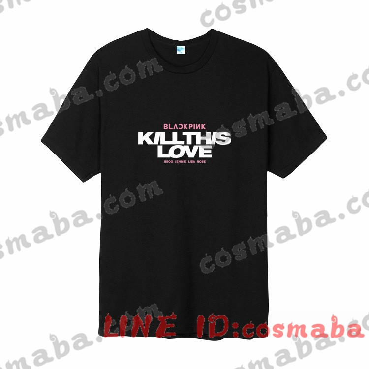 blackpink Tシャツ おすすめ 応援服 服 通販 グッズ