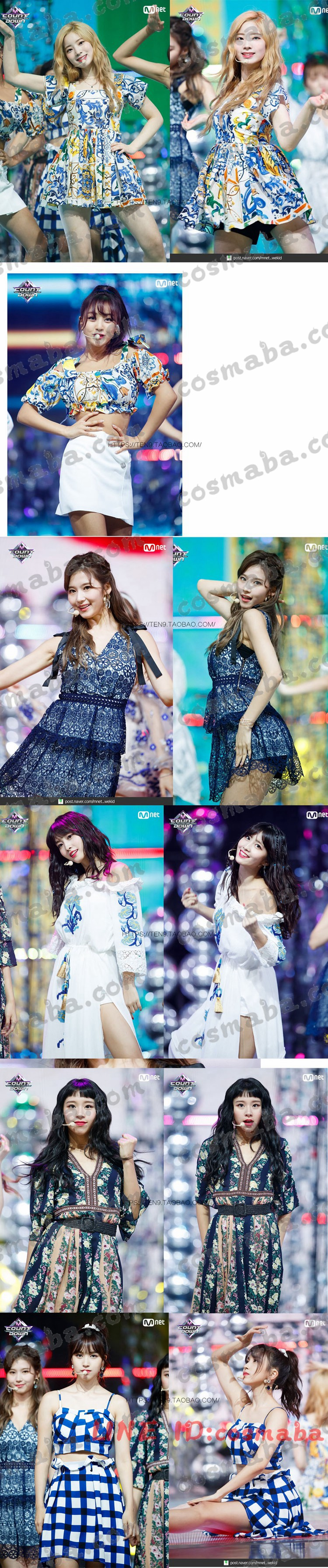 Twice Dance The Night Away fancy you TT 服 ナヨン ミナ 服 応援服 通販 グッズ