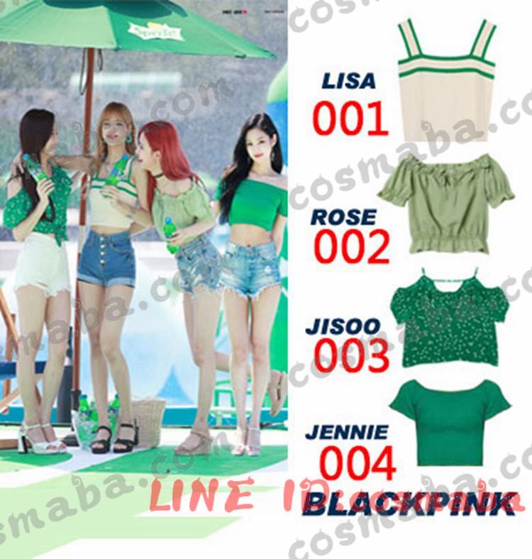 blackpink lisa/rose/jennie/jisoo 服 応援服 通販