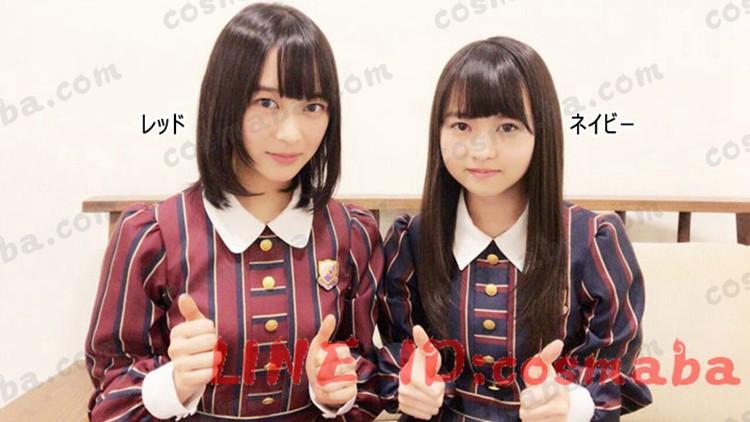 乃木坂46 ネイビー 16th サヨナラの意味  コスプレ衣装 通販 アニメイト