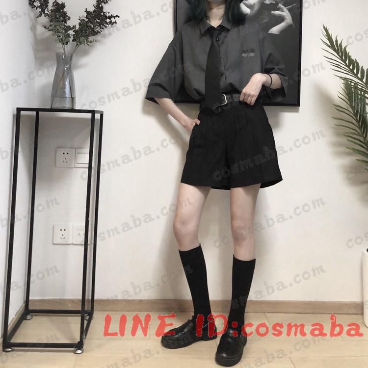 韓国服 黒白 コスプレ衣装ネクタイ贈り